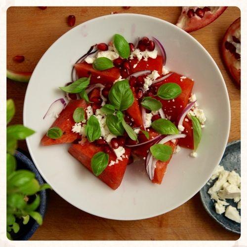 Σαλάτα καρπούζι με φέτα — Paxxi