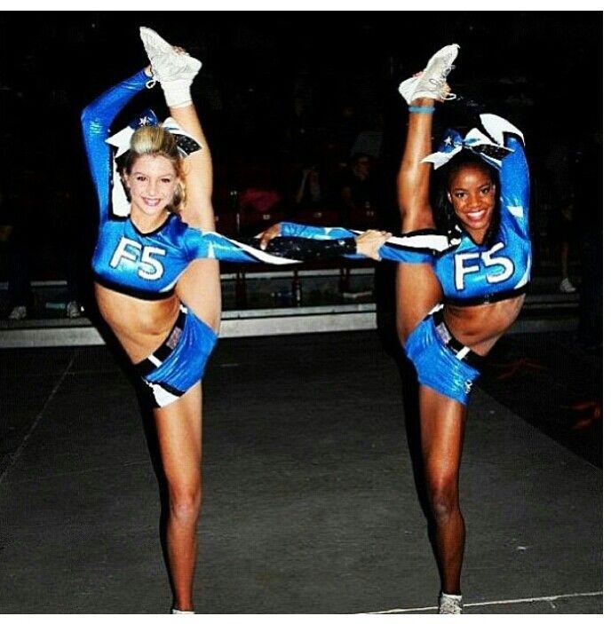 #cheerleading #flexible