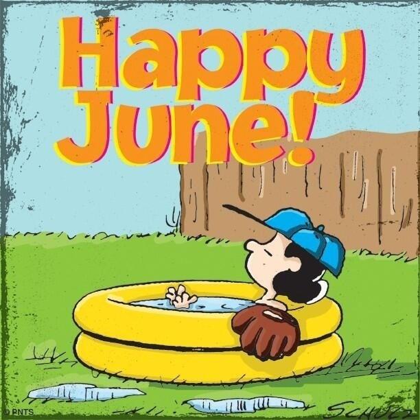 Hello June !!! #snoopy
