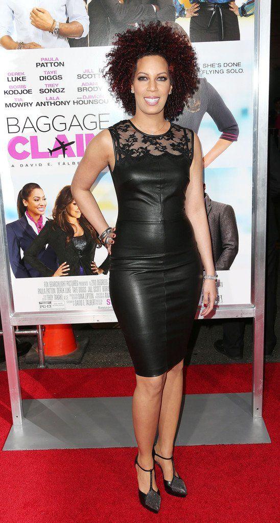 Lyn Talbert in Robert Rodriguez Baggage Claim LA Premieres