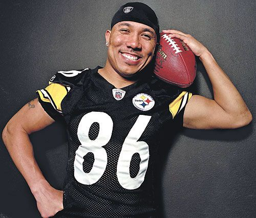 Best athlete and most sportsman-like Hines Ward