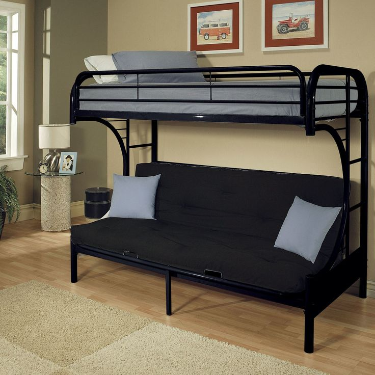 bedroom black bunk bed with futon with loft futon bunk bed also white metal bunk bed with futon and bunk bed futon wood besides futon bunk bed for adults