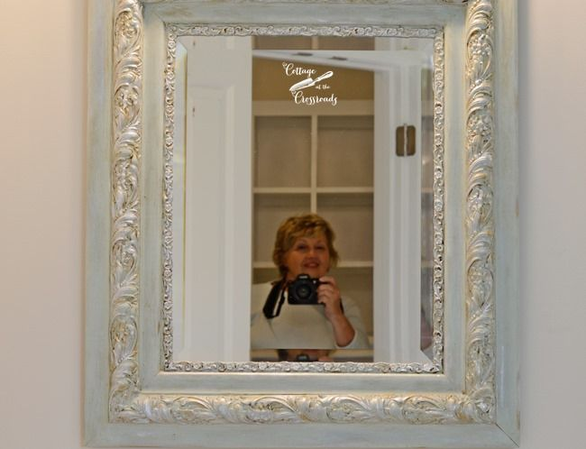 painted mirror frames   Cottage at the Crossroads