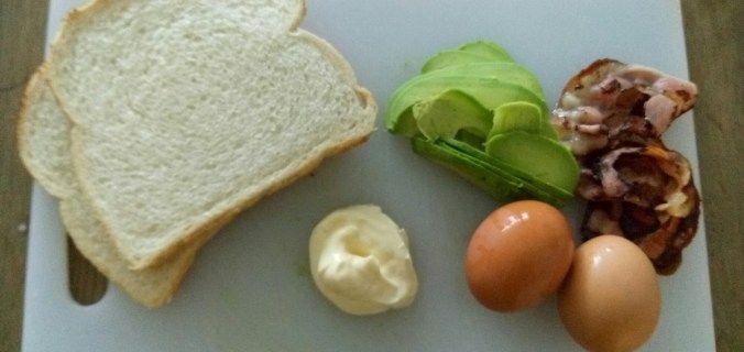 Avocado - Ei sandwich - Knutselen in de Keuken