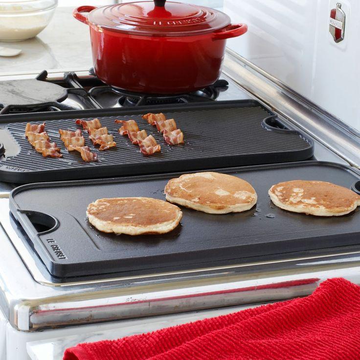 Le Creuset® Reversible Grill/Griddle | Sur La Table