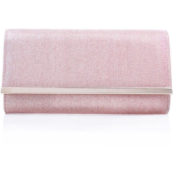Carvela Dylan Clutch Bag (20 OMR) ❤ liked on Polyvore featuring bags, handbags, clutches, bags & luggage handbags, pink purse, handbag purse, handbags clutches, man bag and pink handbags