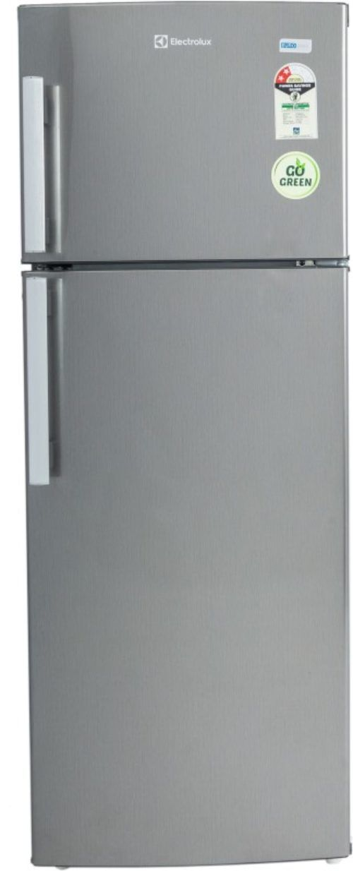 electrolux 190 l frost free double door ref ep202lsvhfb brushed hairline