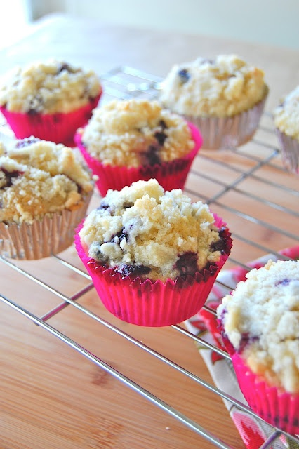 Browned Butter Blueberry Muffins | Muffins all day long | Pinterest