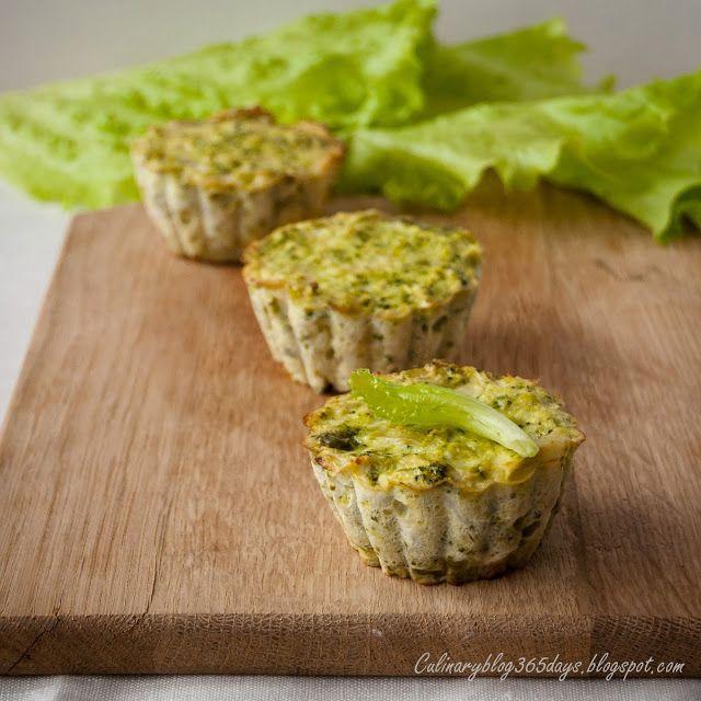 Кулинарный блог 365 дней: Овощные маффины на сметане