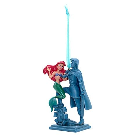 The little mermaid and prince eric christmas decoration for Ariel christmas decoration