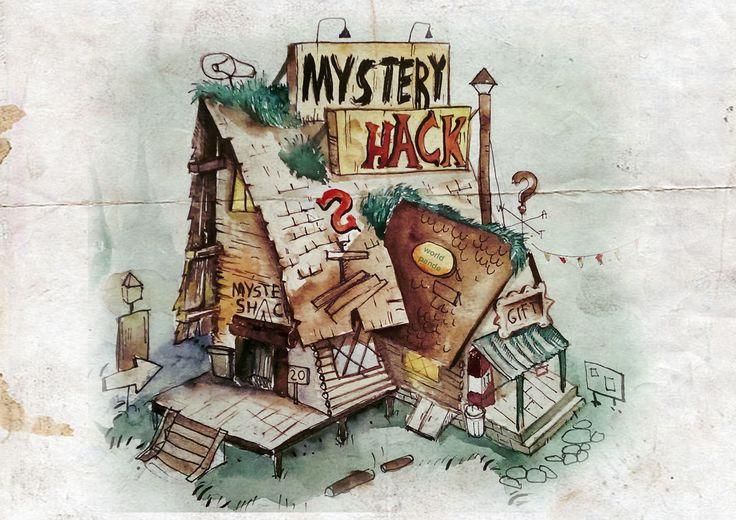 Gravity Falls Mystery Shack