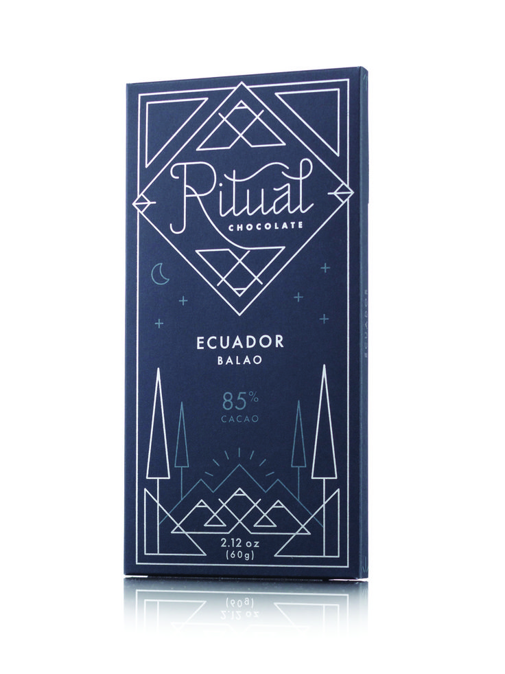 vRitual Chocolate is reviving the focus on quality of bean-to-bar artisan  chocolate. By supporting the people who grow the raw ingredients, the  environment, and all of its inhabitants, it's a chocolate bar that tastes  good and does good.