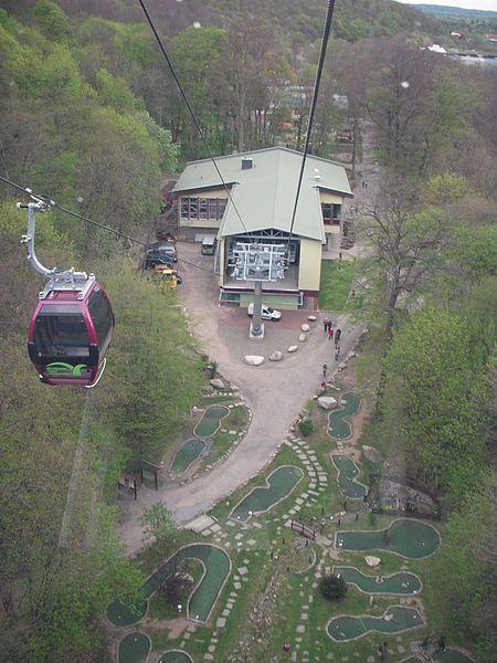 Bode Valley Gondola Lift (Bodetal-Seilbahn) - Thale, Germany