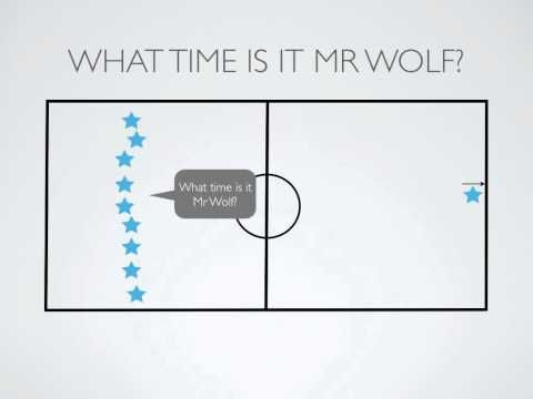 P.E. Games - What Time Is It Mr Wolf? - YouTube