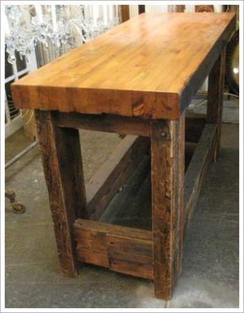 work bench  love for a kitchen island. 48 best kitchen work benches images on Pinterest
