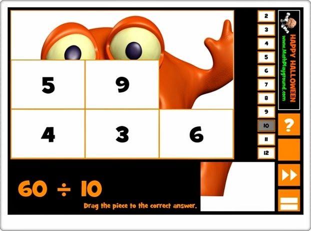 """Halloween puzzle division"""