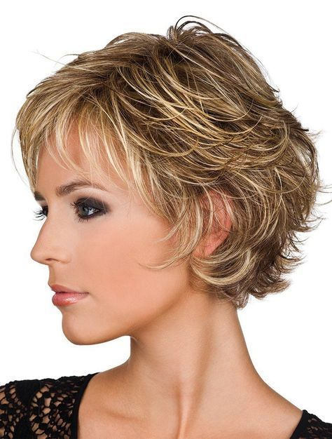 Short Blonde Wavy Real Hair Wigs in 2019