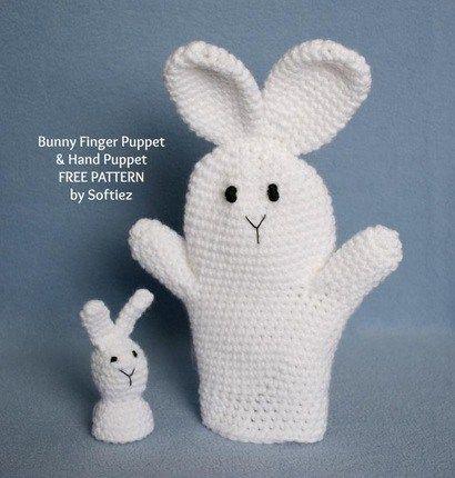 Bunny Puppet Free Crochet Pattern Free Easter Crochet