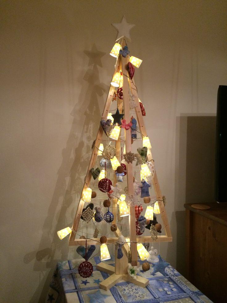 Náš vianočný stromček  #christmas #tree #handmade #diy