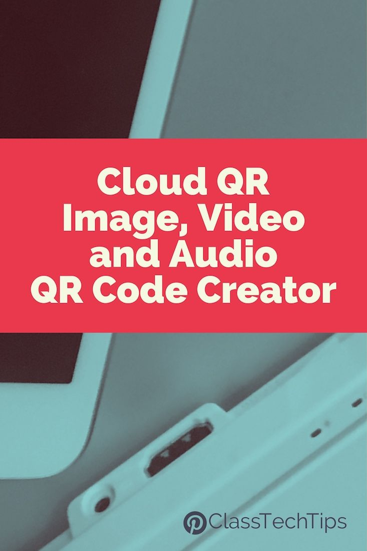 Poster design with qr code - Cloud Qr Image Video And Audio Qr Code Creator