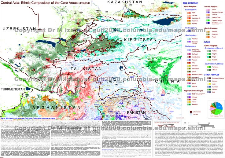 central asia | ethnic composition