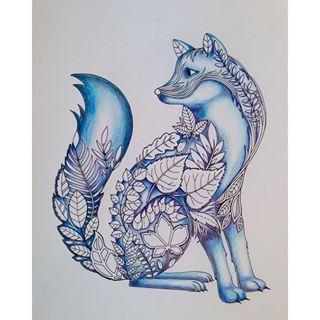 From Instagram Work In Progress Fox In The Enchanted