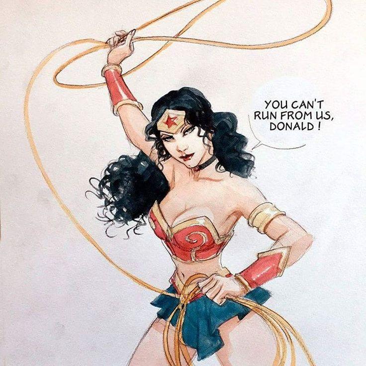 Wonder Woman by Enrico Marini