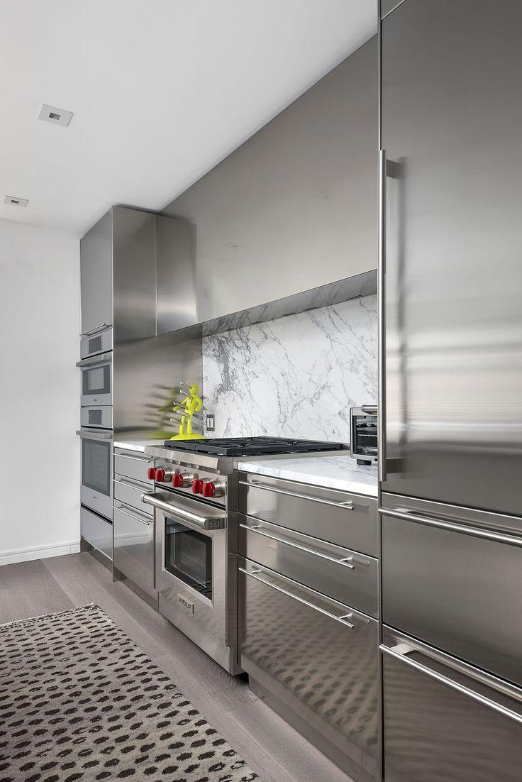 Al al alno kitchen cabinets chicago - Gold Coast Townhouse Dresner Design Kitchen Design Custom Cabinetry Www Dresnerdesign Com