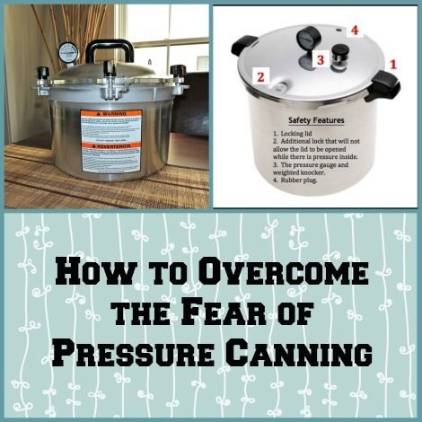 Have you resisted the call to begin pressure canning? If so, this article is for you.   Learn how to overcome the fear of pressure canning by understanding the safety features that are built into modern canners. Canning does not have to be complicated plus it can be a lot of fun.  via www.BackdoorSurvival.com