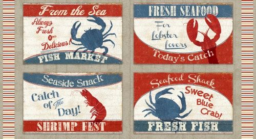 Huge sale windham catch of the day seafood panel crab