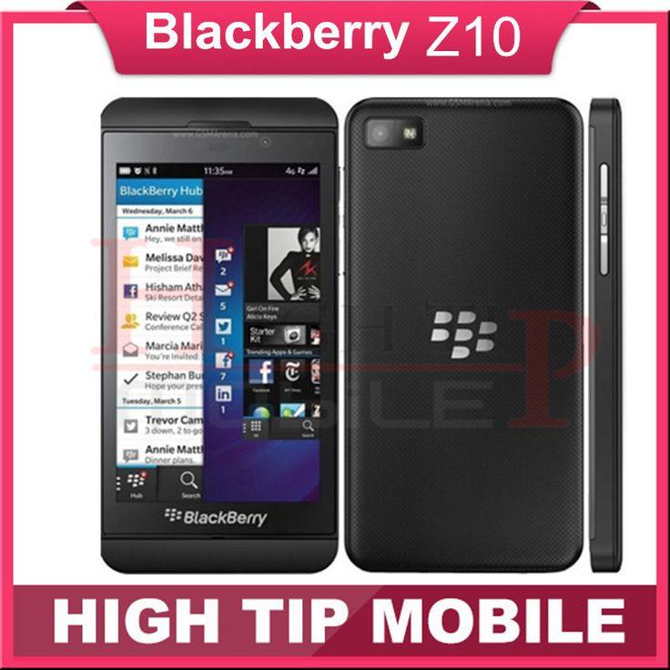 "Unlocked Original Blackberry Z10 Dual-core GPS Wi-Fi 8.0MP 4.2""TouchScreen 2G RAM +16G ROM Refurbished Phone Free Shipping"