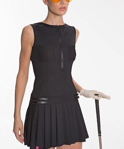 golf... Schriffen - Annabelle Dress(black)