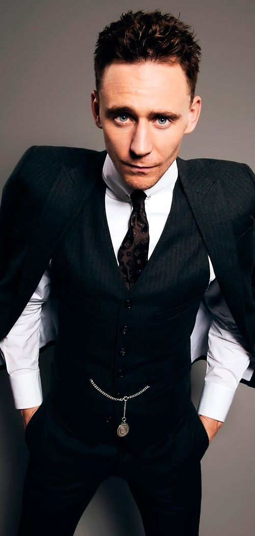 Tom Hiddleston by Dylan Don - November 2013 issue of British GQ. #WaistCoatWednesday Full size image: http://maryxglz.tumblr.com/post/153552072117/waistcoatwednesday-tom-hiddleston-by-dylan-don Source: http://www.gq-magazine.co.uk/gallery/tom-hiddleston-gq-interview-bonus-shots