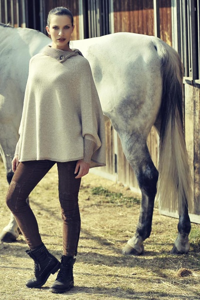 A/W collection #knitwear #poncho #cashmere #fashion