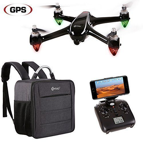 Drone Camera With GPS FPV Wifi Carrying Bag One Key Return Altitude Hold Xmas US #DroneCameraWithGPS