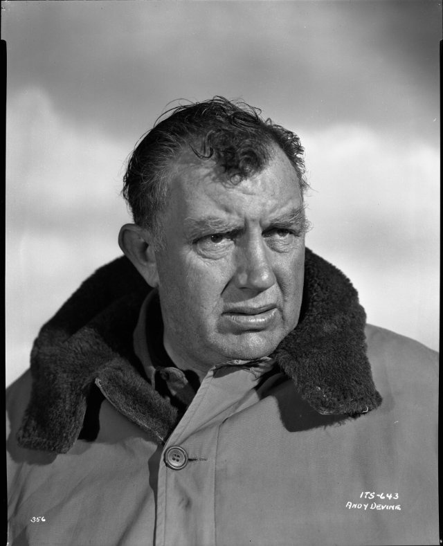 """Andy Devine (I) (1905–1977) - he appeared with Guy Madison in the 'Wild Bill Hickok' tv series in the 1950s, 1960s. He had such a distinctive """"voice"""" one could ever forget. Super actor."""