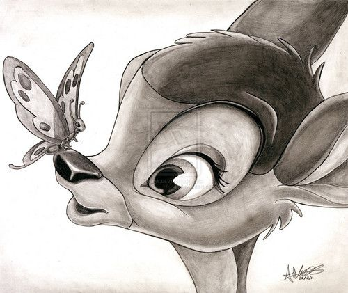 Bambi - Bambi Fan Art (28173488) - Fanpop