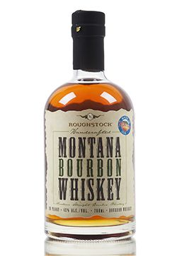 Handcrafted in small batches in the mountains of Montana, this straight bourbon whiskey is a vatted mix, created using four different bourbon recipes... Distilled twice in copper pot stills then aged in heavily charred virgin American white oak barrels.