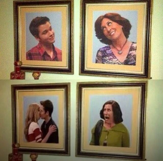 Great and funny picture of Nathan Kress, Jeannette McCurdy, and Mary Scheer! #Icarly