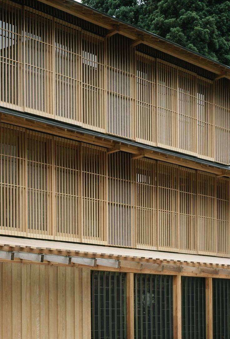 Ginzan Onsen Fujiya _  Yamagata 2006 by Kengo Kuma