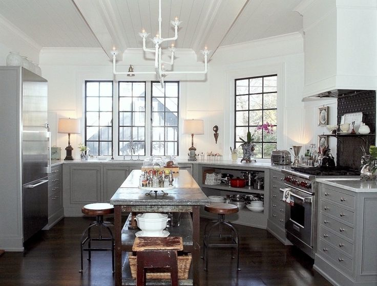 An Exquisite Kitchen Restoration Has Charm To Burn. Barn KitchenKitchen  IdeasI Need HelpGrey ...