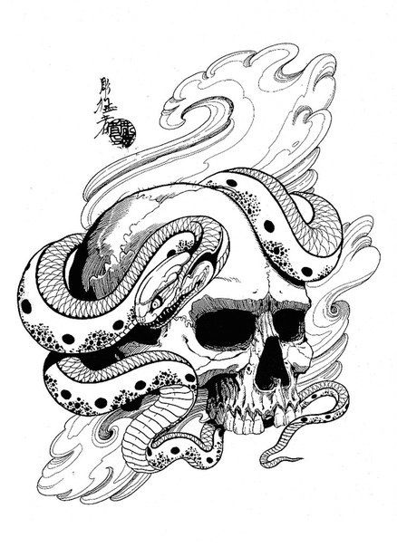 dragons, snakes, birds, skulls Jack Mosher