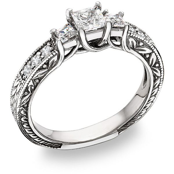 946 best Engagement Rings images on Pinterest Princess cut