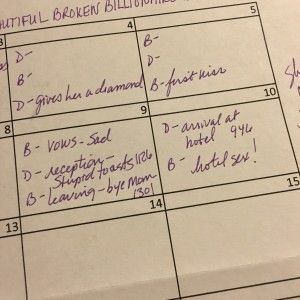 The Story Sheet: How author Shannon Stacey visualizes her story