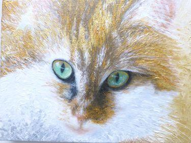 "Saatchi Art Artist Maria Westra; Painting, ""SOPHIETJE 3"" #art"