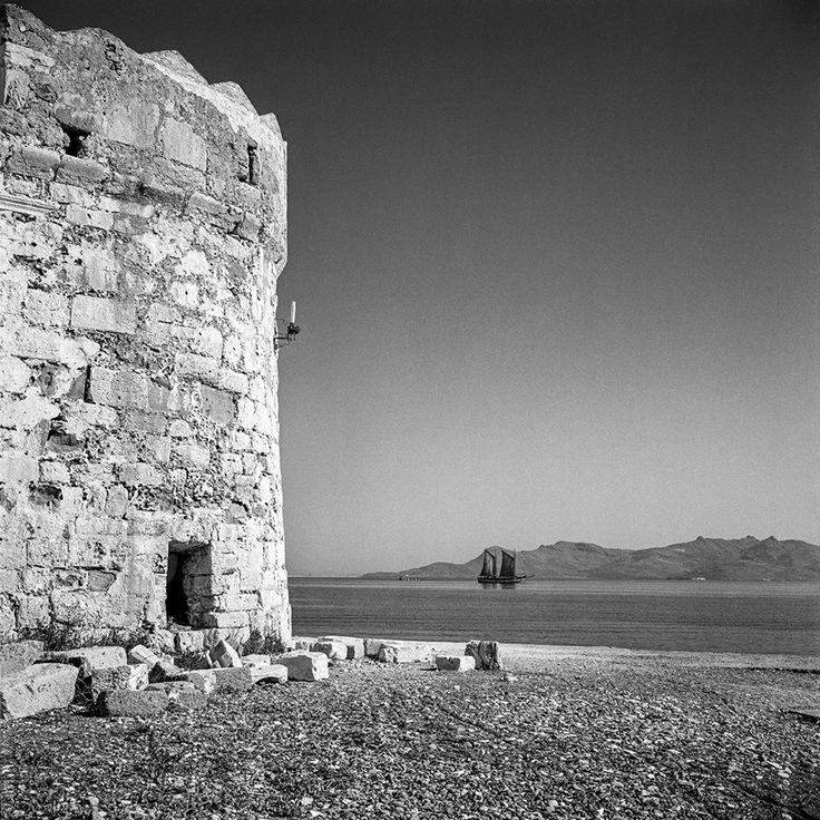 Robert McCabe.Κώς,κάστρο των Ιπποτών το 1954.