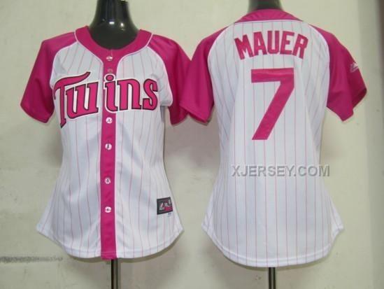 http://www.xjersey.com/twins-7-mauer-pink-women-splash-fashion-jersey.html TWINS 7 MAUER PINK WOMEN SPLASH FASHION JERSEY Only $35.00 , Free Shipping!