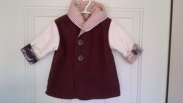Child's Brown Car Coat 6 months C84/15 by zoya49 on Etsy
