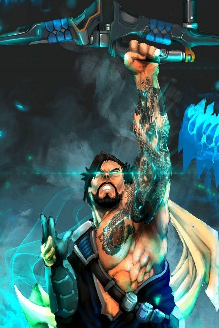 Archer Hanzo Overwatch Online Game Wallpaper Overwatch Wallpapers Hanzo Overwatch