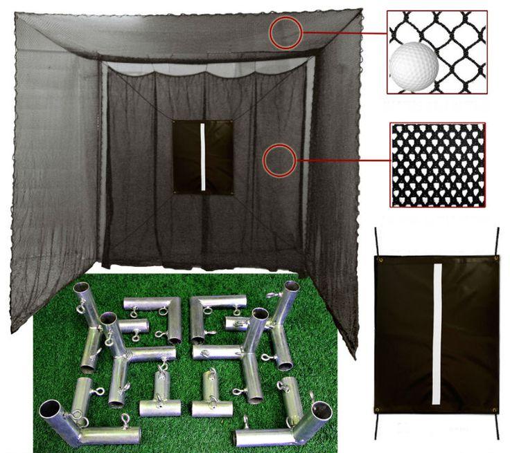 Best DIY Golf Net with Frame Corner Kit by Cimarron on eBay http://www.ebay.com/itm/111570743243
